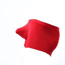 Envío gratis 5 unids COCKCON ropa interior transparente masculina Seda de hielo fino de baja altura sexy transpirable pantalones transparentes desde fabricantes