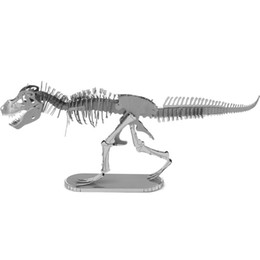 Wholesale 3d Insect Toys - 3D Metal Puzzles for children Adults Model kids Toys for Children Jigsaw Metal Insect Tyrannosaurus puzzles educational toys
