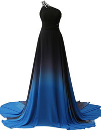 Wholesale Cheapest Women Formals - Cheap Couture Dresses 2016 Free Shipping One Shoulder Long Prom Dresses Chiffon Women Formal Evening Gowns Dresses
