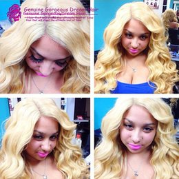 Wholesale Indian Beyonce - Pure #613 color 130density transparent lace 10-24inch brazilian glueless full lace wigs blonde beyonce human hair wigs