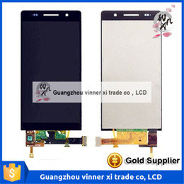 Wholesale Original Huawei Ascend P6 - For Huawei P6 LCD Screen 100% original lcd display+ touch screen Replacement For Huawei Ascend P6 Smart Phone