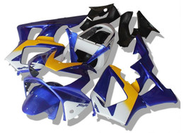 Wholesale Honda 929rr - 3 Free Gifts New ABS Injection Fairings set For HONDA 00 01 CBR929RR CBR 929 929RR 900RR CBR900RR 2000 2001 Cool yellow blue white