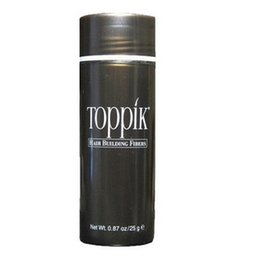 Wholesale Toppik Hair Wholesale - OEM Factory 25g Toppik Hair Fibers Keratin Thinning Loss Concealer Hair Thicker Powder Styling 4colors