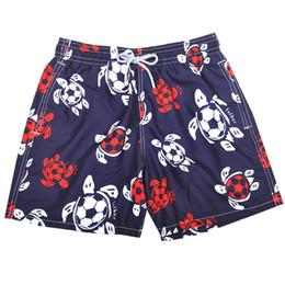 Wholesale Underwear Men Green - High Quality 2016 Brand Designers Beach Shorts For Men Boy Underwear Multicolor Sea Turtle Printed Vilebre Men's Boardshorts