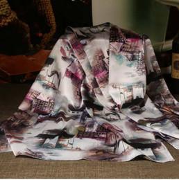 Sciarpa lunga sciarpa invernale donna inverno Sciarpa seta femminile autunno stampato estate 100% copertura in seta seta gelso 165cm silenziatore lungo spessore E da