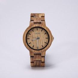 Wholesale Wood Wrist Watches - Factory OEM New Style Fashion Sandal Wood Wrist Watch Quartz Wooden watch