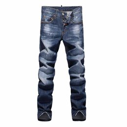 Wholesale Christmas Wash Light - Christmas gift for European and American minimalist fashion washing small straight men low waist jeans