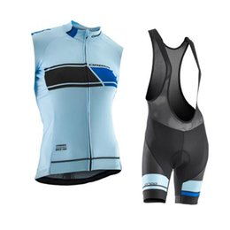 Wholesale Womens Cycling Clothes Xl - 2017 new ORBEA womens cycling jersey bike shorts SET MTB maillot Ropa Ciclismo quick dry summer sleeveless racing bicycle clothing J1902