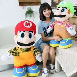 """Wholesale Toy Mushrooms Kids - Mary Mushroom Dolls Mario Brothers pp cotton Plush Toys chirstmas gifts birthday gifts 30cm 11.8"""""""