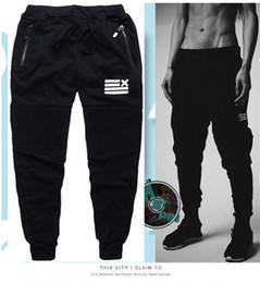 Wholesale Fashion Cargo Trousers - 2016 New Mens Male Autumn Fashion Slim Sweatpants Harem Pants Cotton Joggers Casual Sports Trousers Man Brand cargo pants