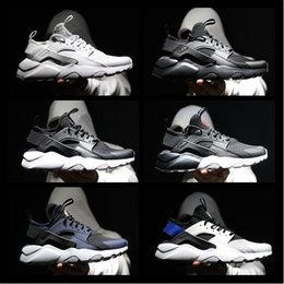 Wholesale Shoes Sneakers Wedge Woman - 2017 Original Huaraches fashion sneaker wedges laser equipment unisex running shoe women tennis shoe Breathable air huarach walkin Sneakers