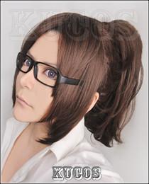 Wholesale Hanji Cosplay - Wholesale-Hanji Zoe Wig - Attack On Titan Wig Hanji Zoe Wig Brown Womens Shingeki no Kyojin Cosplay Wig