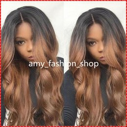 Wholesale Two Tone Blonde Short Wigs - best selling products two toned curly full WHOLE lace human hair wigs