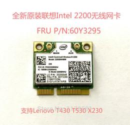 Wholesale Pcie Mini Card Wireless - Wholesale- Intel 2200 For Lenovo T430 T530 X230 wireless network mini pcie half card WIFI CARD FRU 60Y3295