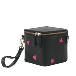 Wholesale Girl Young Hot - 8018 genuine leather cute shoulder bag for young lady and girl multi-functional case and bag super kawayi design new and hot sales small