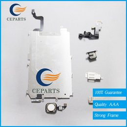 Wholesale Holding Camera - For iPhone 6 6 plus Small Parts LCD Holding Back Metal Plate+Front Facing Camera+Full Set Screws+Earpiece+Home Flex Cable Assembly