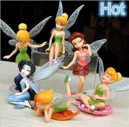 Wholesale Wholesale Garden Fairies - Decor for Garden Fairy Garden Miniatures Fairy Genius Elf Mini Figure Character 100mm Hot Sale Free Shipping