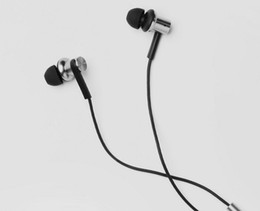 Wholesale Earphones Mic For Computer - Xiaomi Hybrid Earphone with Mic Remote Headset for Xiaomi Redmi Red Mi Mobile Phone In-Ear Computer MP3 PC free shipping