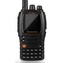 Wholesale Digital Walkie - DMR Digital Ham Radio Transceiver Wouxun KG-D901 UHF 400-480MHz 1000 channels 2-5 miles Two Way Cb Walkie Talkie with 2000mAh Battery