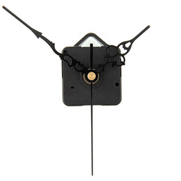 Wholesale Clock Movement Mechanisms Kits Wholesale - Wholesale-Hot New DIY Mechanism Quartz Clock Movement Parts Replacement Repair Tools Set Kit All-Black Hands Gift elegant