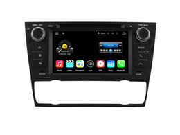 Wholesale Bmw Android Radio - 7 Inch Quad Core Android 5.1 Car DVD Player For E90 E91 E92 E93 2006 2007 2008 2009 2010 2011 For BMW
