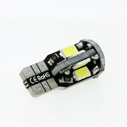 Wholesale Bright Led Turn - T10 Super Bright 10-SMD 168 194 5730 LED warm white Bulbs Car License Plate Lights
