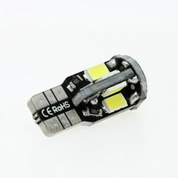 Warmweiß geführtes kfz-kennzeichen online-T10 Super Bright 10-SMD 168 194 5730 LED warmweiße Glühbirnen Auto Kennzeichenbeleuchtung