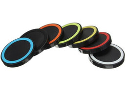 Wholesale S4 Charging Pad - Qi Wireless Charger Cell phone X50 Mini Charge Pad For Qi-abled device Samsung Galaxy S3 S4 S5 Note2 3 Nokia HTC Iphone phone