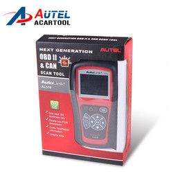 Wholesale Autel Autolink Al519 - DHL Free Shipping Wholesale Autel AutoLink AL519 Next Generation OBD II and CAN Scan Tool AutoLink AL 519 Code Scanner