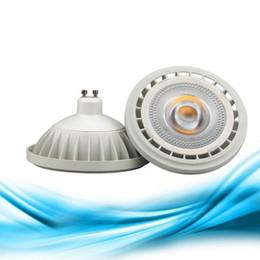 Lampe g53 ar111 en Ligne-AR111 QR111 ES111 GU10 Lampe LED 12W Entrée AC85-265V DC12V Projecteur Lampe torche Ampoule G53 Ampoules à intensité variable blanc chaud / blanc froid
