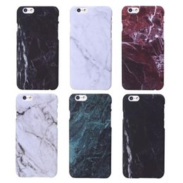 Wholesale Iphone5 Fashion Cases - i5 i6 6P Fashion Phone Cases For iPhone 5 Case Marble Stone image Painted Cover For iphone5 5S 6 6S   Plus New Screen Protector