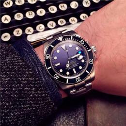 Wholesale Eta Diver - Top Quality AAA Mens Watch 44mm Blue Ceramic Bezel Sea Dweller Swiss ETA 2836 Movement Automatic Man Watches.
