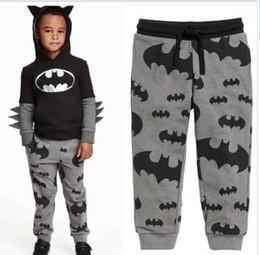 2019 12 meses ropa de marcas para niños Venta caliente niños de alta calidad de moda de dibujos animados de algodón otoño niños niños pantalones 2-7Y niños niños pantalones niños niñas para los pantalones HJIA835