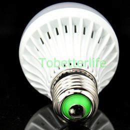 Milho americano on-line-Venda quente americana levou luz de bulbo interior E27 levou 3 W 5 W 7 W 9 W milho luz totalmente plástico branco / branco quente A19 A60