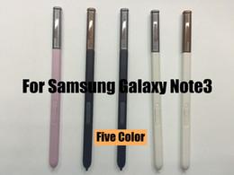 caneta original Desconto Atacado-Original caneta stylus para samsung galaxy note 3 n900 n9005 n900a para caneta de toque do telefone móvel stylus frete grátis