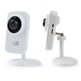 Wholesale Mini Wired Infrared Camera - V380 smart camera Mini Wifi IP Camera Wireless 720P HD P2P Smart Camera Fashion Baby Monitor DHL free shipping