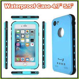 Wholesale Waterproof Skins For Phones - Original Redpepper Waterproof Cases for iPhone 7 4.7 Plus 5.5 shockproof waterproof Phone case with Fingerprint Combo Cover SKin