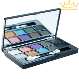 Wholesale Make Up Mineral Professional Powder - 10 Color Professional Makeup Eyeshadow Mineral Powder Big Eye Shadow Palette Comestic Make up