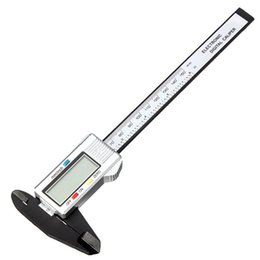 Wholesale Stainless Micrometer - Wholesale-High Quality 6inch 150 mm Digital Vernier Caliper Micrometer Guage Widescreen Electronic Accurately Measuring Stainless Steel