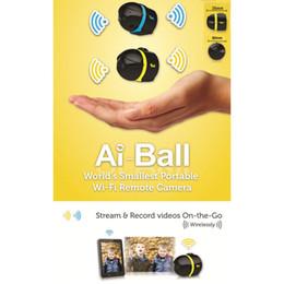 Wholesale Ai Ball Mini Wifi Cam - Ai-ball Security Ip Camera Wireless Web Camera Mini Wifi Cam Remote Surveillance Camera