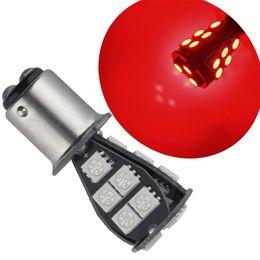 Wholesale P21 Bulb - 1157 BAY15D P21 5W 18SMD 18SMD-5050 CANBUS Error Free Brake Tail Car LED Light Bulb