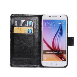 Wholesale Wallet Smartphone - High Quality Universal Mobile Phone Leather Case Shell For Smartphone Stand Flip Case Cover ,Wallet Back Cover Pouch With Card Slot