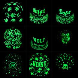 Wholesale Graffiti Snapback Hats - Graffiti Baseball Cap Hip Hop Fluorescent Light Snapback Caps Men Casquette Women Girl Noctilucence Hats Boy Luminous Hat