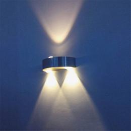 Wholesale Led Light Bar Bathroom - Wholesale-3W Modern LED Wall Light AC85-265V For Home Bathroom Bedroom Surface Mounted Led Wall lamp Led Spot light For Home KTV bar