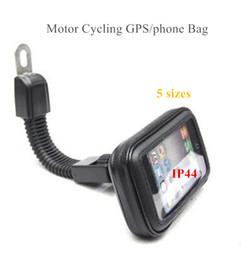 s4 телефон gps Скидка Водонепроницаемый мотоцикл Велоспорт GPS сумка 4 дюйма до 6,3 дюйма мобильный телефон держатель чехол для IPHONE6 6 S плюс note4 S5 S4