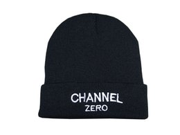 Wholesale Cheap Fitted Caps Free Shipping - Cheap SSUR Channel ZERO bigbang Brand Beanies Winter hat Skullies Street Hip hop Beanie hat Free Shipping