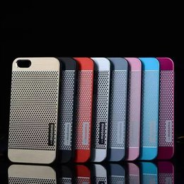 Wholesale Polka Dot Galaxy S4 - Motomo Aluminum Metal Hard Case Cover Polka Dots Pattern for iphone 4  5 6s 6 Plus  For Samsung Galaxy S3 S4 S5 S6