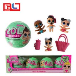 Wholesale Color Changing Eggs - One Set 4 pcs LOL SURPRISE DOLL Lil Sisters Series 2 Toys baby Tear change egg Baby Dolls Color changing function
