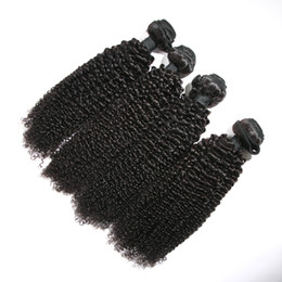 Wholesale Indian Hair Stock Price - In Stock 8-32inch 9A Top Quality Factory Price Natural Malaysian virgin Cuticle hair weaving weft 9A kinky curl curly human hair