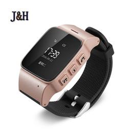 2019 relógio gps de qualidade Atacado-Alta Qualidade Crianças Idosos Smartwatch Chamada Telefônica SOS Pulseira Posicionamento Localização Rastreador GPS Relógio Inteligente relógio gps de qualidade barato